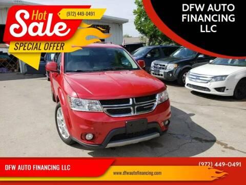 2014 Dodge Journey for sale at Bad Credit Call Fadi in Dallas TX
