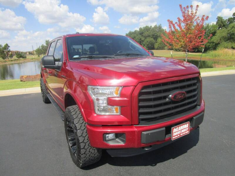 2016 Ford F-150 for sale at Oklahoma Trucks Direct in Norman OK