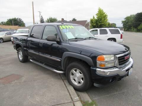 2005 GMC Sierra 1500 for sale at Car Link Auto Sales LLC in Marysville WA