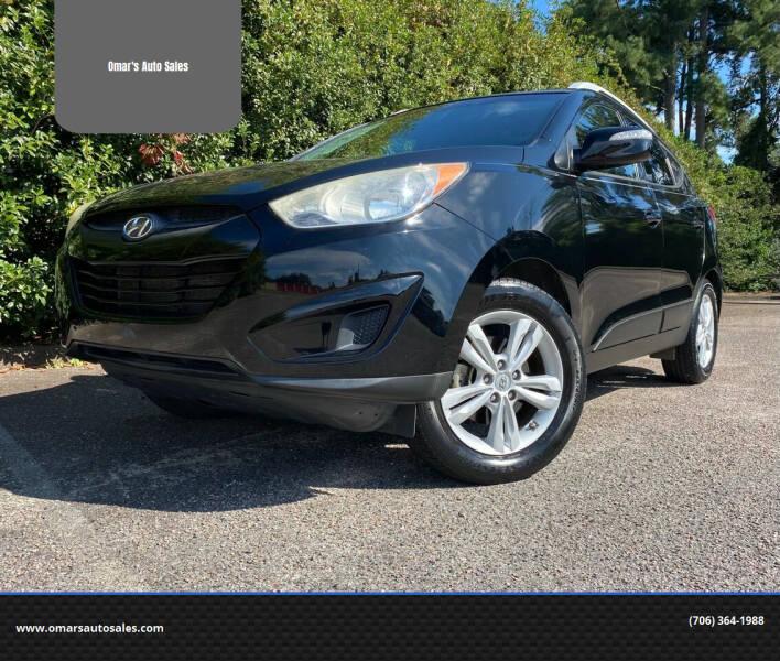2012 Hyundai Tucson for sale at Omar's Auto Sales in Martinez GA