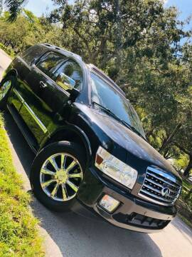 2008 Infiniti QX56 for sale at IRON CARS in Hollywood FL