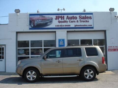 2010 Honda Pilot for sale at JPH Auto Sales in Eastlake OH