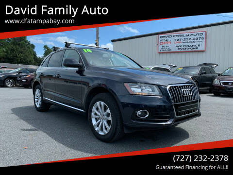 2014 Audi Q5 for sale at David Family Auto in New Port Richey FL