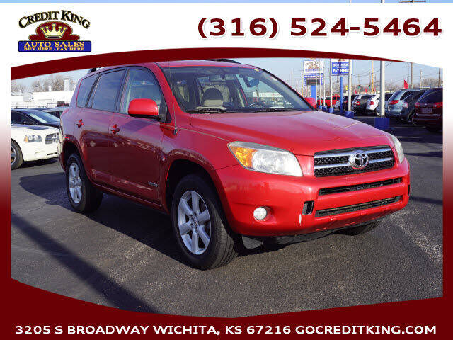 2007 Toyota RAV4 for sale at Credit King Auto Sales in Wichita KS