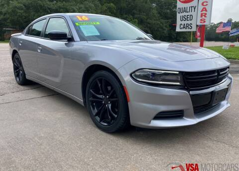 2016 Dodge Charger for sale at VSA MotorCars in Cypress TX