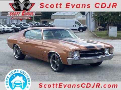 1971 Chevrolet Chevelle for sale at SCOTT EVANS CHRYSLER DODGE in Carrollton GA