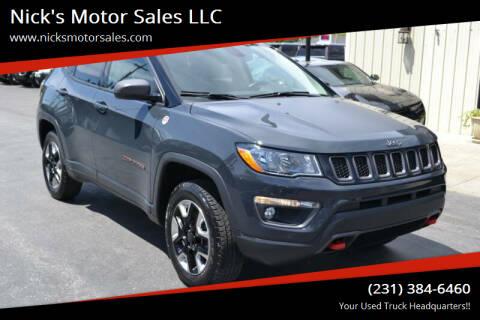 2018 Jeep Compass for sale at Nick's Motor Sales LLC in Kalkaska MI
