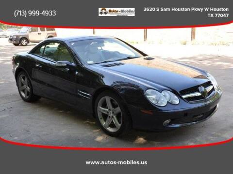 2004 Mercedes-Benz SL-Class for sale at AUTOS-MOBILES in Houston TX