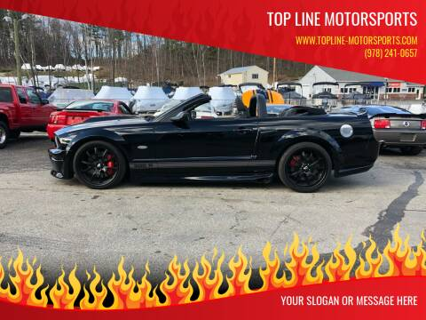 2008 Ford Mustang for sale at Top Line Motorsports in Derry NH