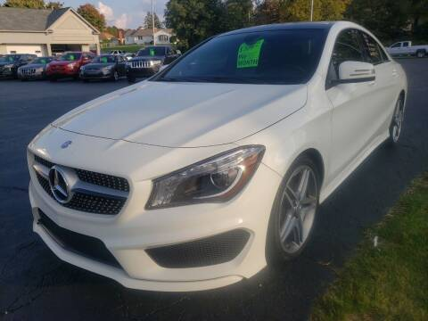 2014 Mercedes-Benz CLA for sale at STRUTHER'S AUTO MALL in Austintown OH