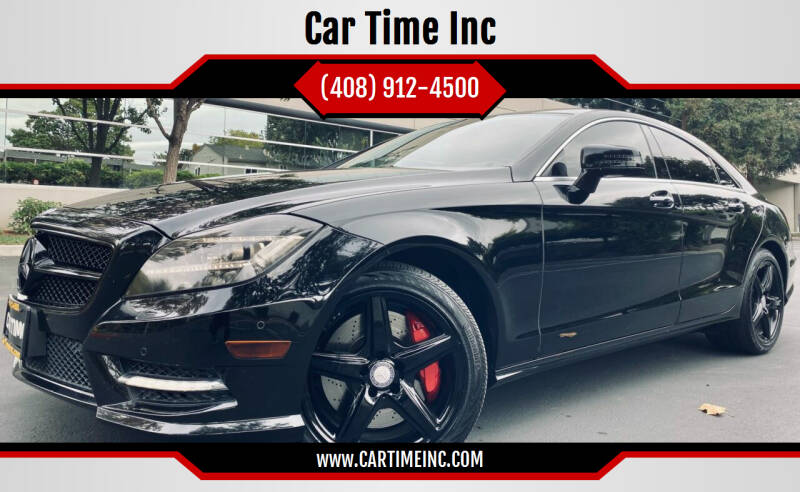 2013 Mercedes-Benz CLS for sale at Car Time Inc in San Jose CA