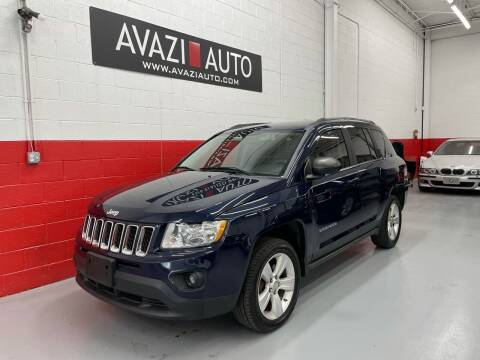 2012 Jeep Compass for sale at AVAZI AUTO GROUP LLC in Gaithersburg MD