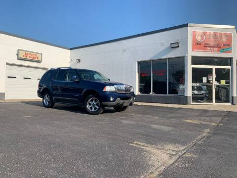 2005 Lincoln Aviator for sale at HIGHLINE AUTO LLC in Kenosha WI