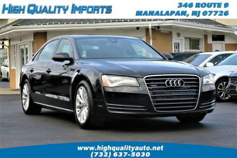 2011 Audi A8 L for sale at High Quality Imports in Manalapan NJ