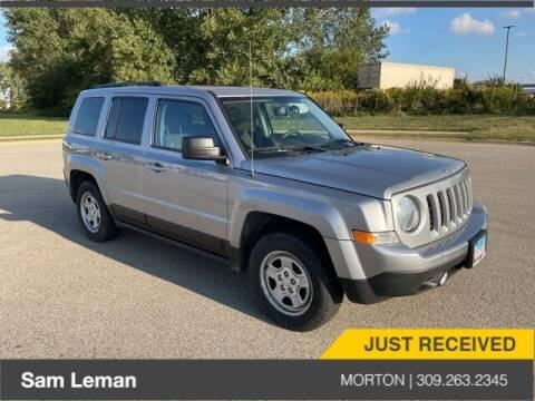 2017 Jeep Patriot for sale at Sam Leman CDJRF Morton in Morton IL