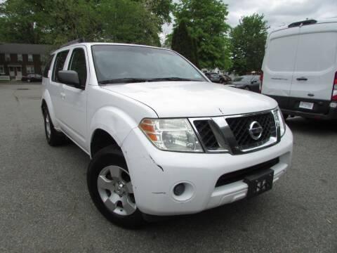 2008 Nissan Pathfinder for sale at K & S Motors Corp in Linden NJ
