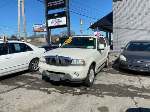 2003 Lincoln Aviator for sale at Discount Motors Inc in Madison TN
