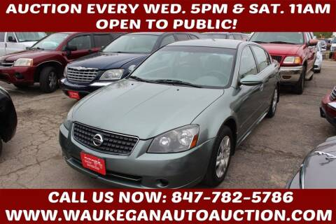 2005 Nissan Altima for sale at Waukegan Auto Auction in Waukegan IL