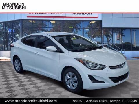 2016 Hyundai Elantra for sale at Brandon Mitsubishi in Tampa FL