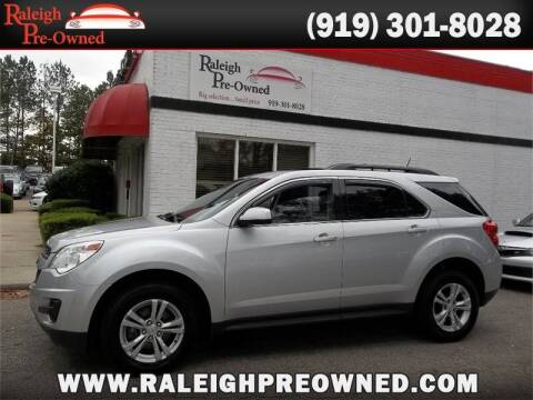 2014 Chevrolet Equinox for sale at Raleigh Pre-Owned in Raleigh NC