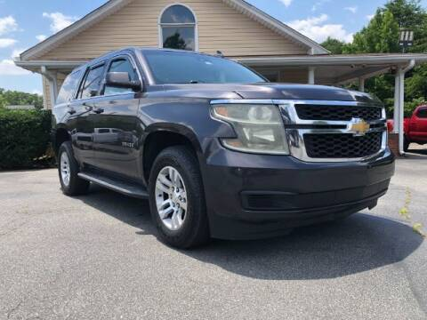 2015 Chevrolet Tahoe for sale at Adams Auto Group Inc. in Charlotte NC