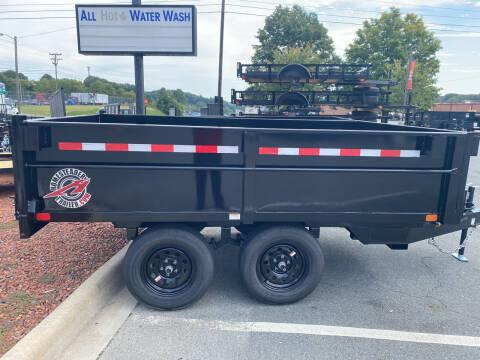 2021 Hawk 6x10 Dump  for sale at Big Daddy's Trailer Sales in Winston Salem NC