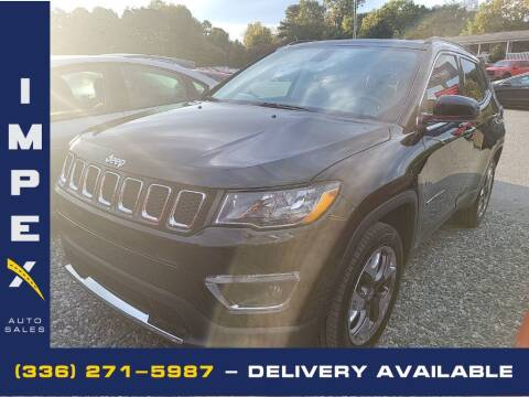 2018 Jeep Compass for sale at Impex Auto Sales in Greensboro NC