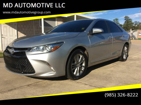 2016 Toyota Camry for sale at MD AUTOMOTIVE LLC in Slidell LA