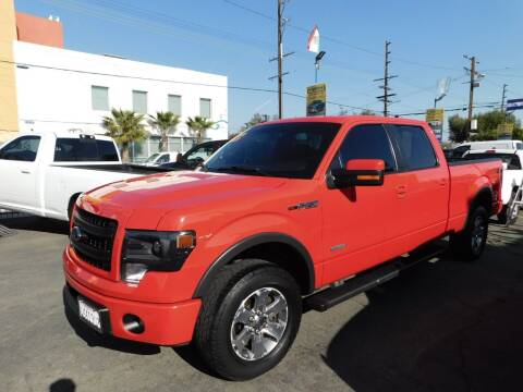 2013 Ford F-150 for sale at Williams Auto Mart Inc in Pacoima CA