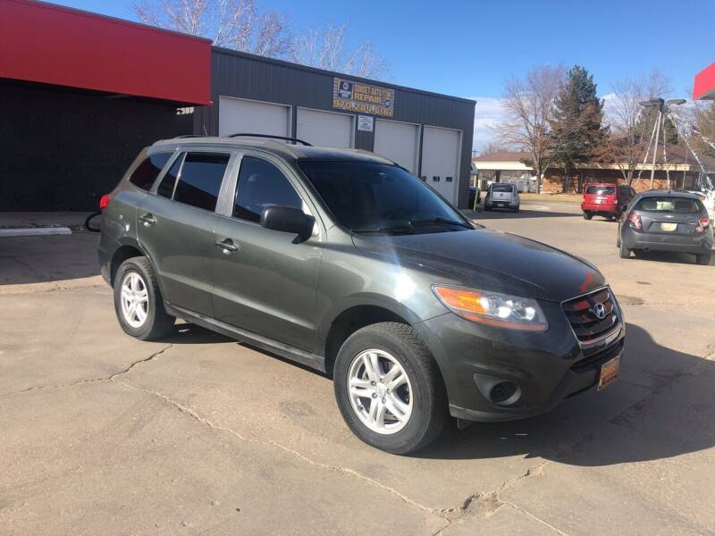 2010 Hyundai Santa Fe for sale at Sunset Auto Sales & Repair in Lasalle CO