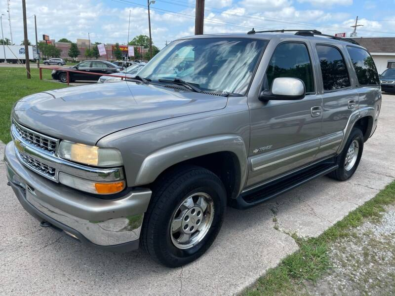 2003 Chevrolet Tahoe for sale at Texas Select Autos LLC in Mckinney TX
