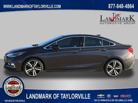 2017 Chevrolet Cruze for sale at LANDMARK OF TAYLORVILLE in Taylorville IL