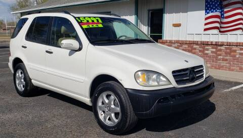 2002 Mercedes-Benz M-Class for sale at Sand Mountain Motors in Fallon NV