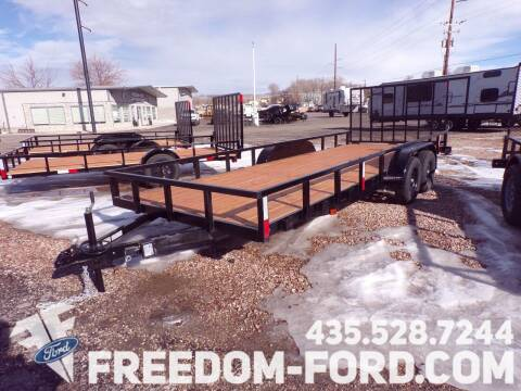 2021 FF OFFROAD 7x20 Tandem Axle for sale at Freedom Ford Inc in Gunnison UT