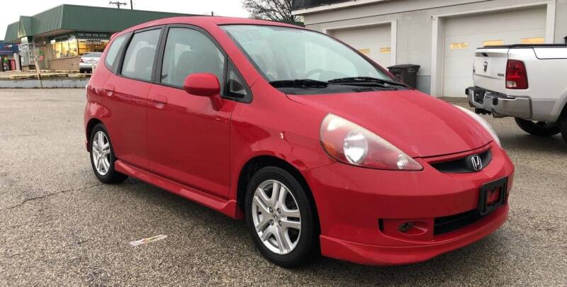 2007 Honda Fit for sale at Perrys Certified Auto Exchange in Washington IN