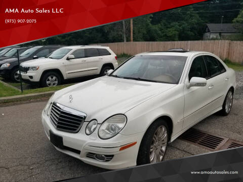 2008 Mercedes-Benz E-Class for sale at AMA Auto Sales LLC in Ringwood NJ