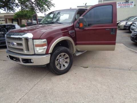 2008 Ford F-250 Super Duty for sale at ACH AutoHaus in Dallas TX