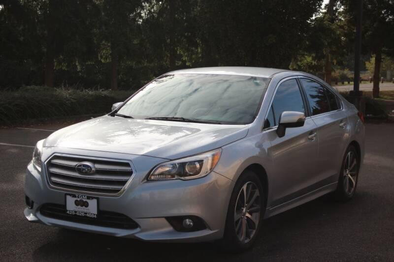 2016 Subaru Legacy for sale at Top Gear Motors in Lynnwood WA