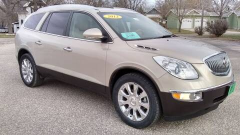 2012 Buick Enclave for sale at Unzen Motors in Milbank SD