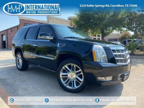 2013 Cadillac Escalade for sale at International Motor Productions in Carrollton TX