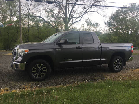 2014 Toyota Tundra for sale at DONS AUTO CENTER in Caldwell OH