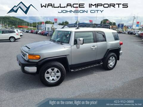 2010 Toyota FJ Cruiser for sale at WALLACE IMPORTS OF JOHNSON CITY in Johnson City TN