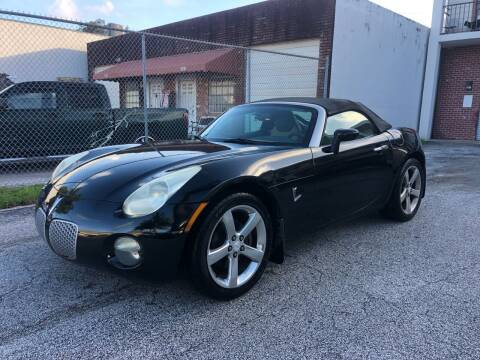 2006 Pontiac Solstice for sale at Florida Cool Cars in Fort Lauderdale FL