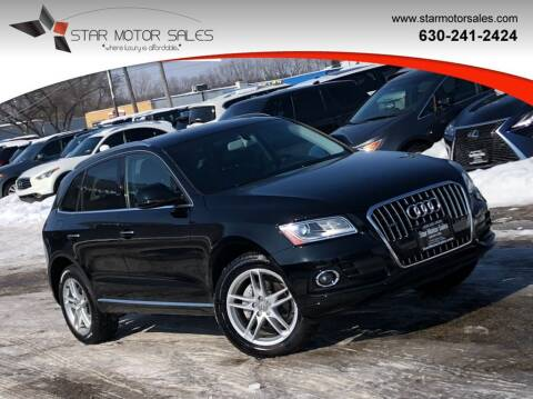 2016 Audi Q5 for sale at Star Motor Sales in Downers Grove IL