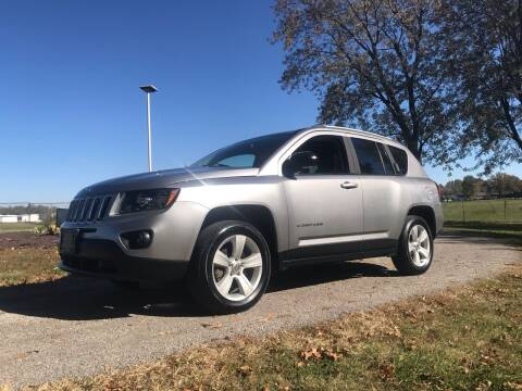 2016 Jeep Compass for sale at BARKLAGE MOTOR SALES in Eldon MO