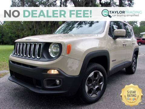 2015 Jeep Renegade for sale at Taylor Trading in Orange Park FL