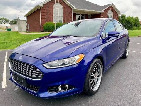 2014 Ford Fusion for sale at HillView Motors in Shepherdsville KY