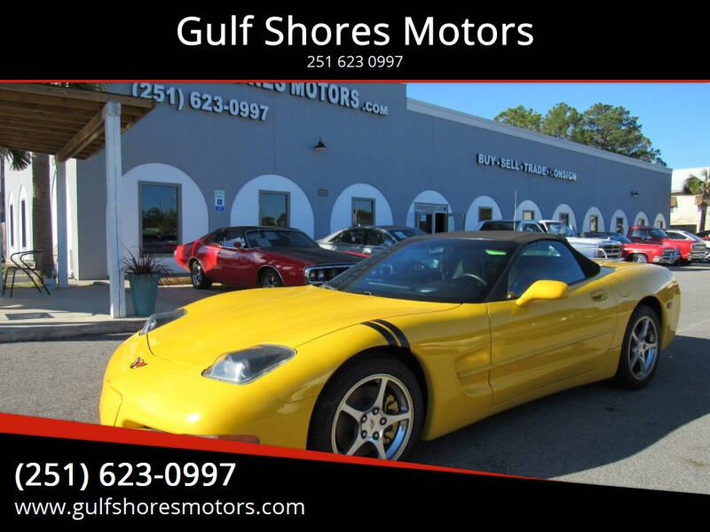 2004 Chevrolet Corvette for sale at Gulf Shores Motors in Gulf Shores AL