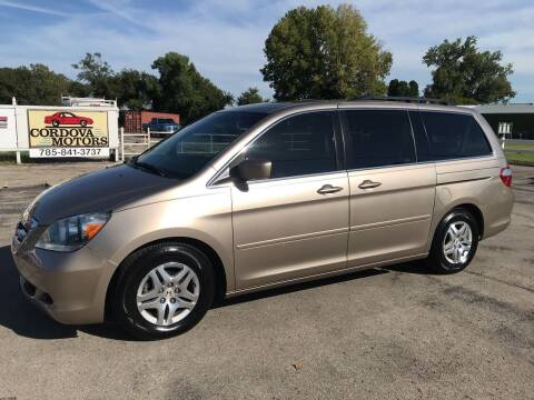 2007 Honda Odyssey for sale at Cordova Motors in Lawrence KS