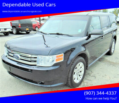 2010 Ford Flex for sale at Dependable Used Cars in Anchorage AK